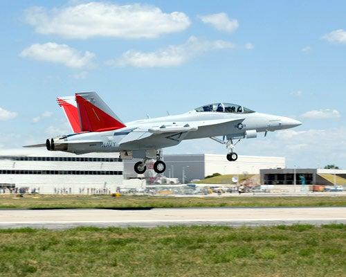 US Navy's EA-18G Growler aircraft