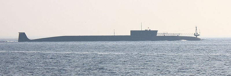 Borey-class (Project 955) ballistic missile nuclear submarine