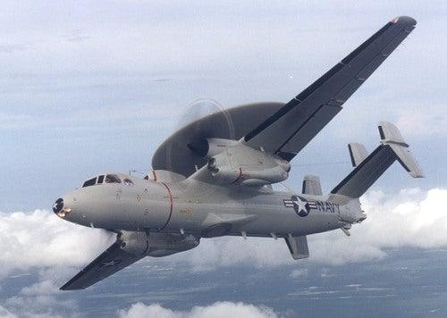 E-2C aircraft