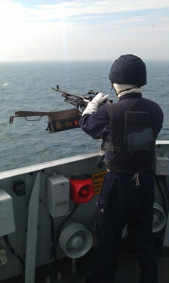 HMS Iron Duke personnel