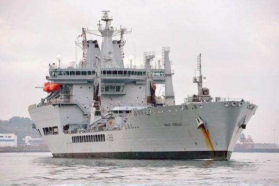 Royal Fleet Auxilary ship, Wave Knight