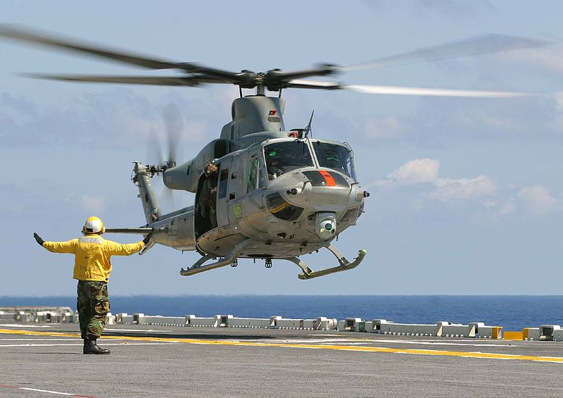 USMC's UH-1Y Huey helicopter