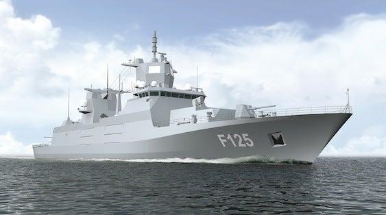 German Navy's F125 frigate