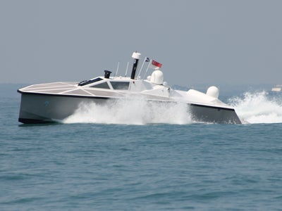 Vigilant-class independent unmanned surface vessel (IUSV)