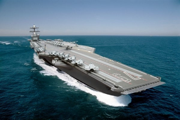 John F. Kennedy (CVN 79) aircraft carrier