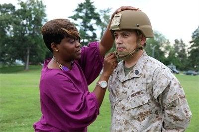 Enhanced combat helmet