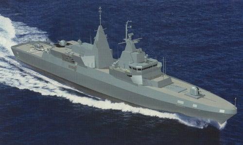 South African Navy's Meko A-200 frigate