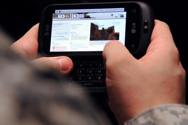 Military mobile device