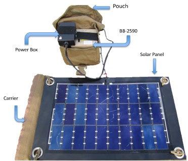 MSP photovoltaic prototype