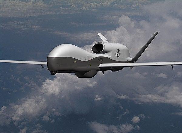 MQ-4C UAS