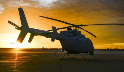 MQ-8C Fire Scout unmanned helicopter