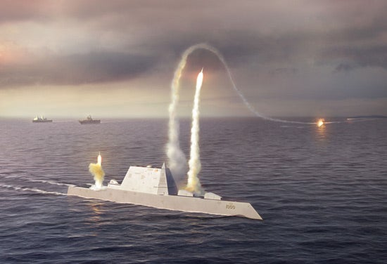 DDG 1000 Zumwalt-class guided missile vessel
