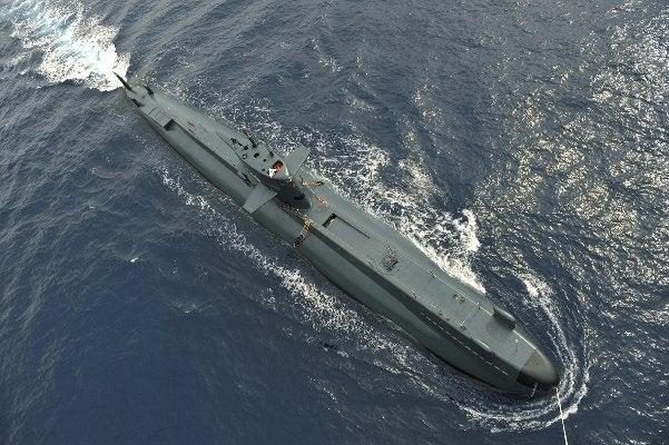 Italian Navy's Submarine