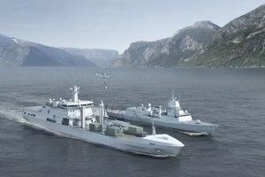 Norwegian Logistics and Support Vessel
