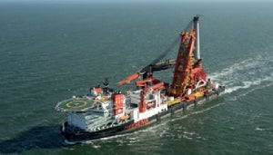 Safety first on construction vessel Aegir