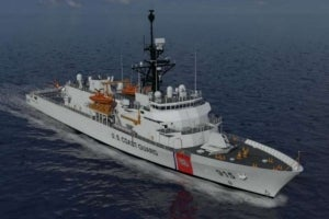 Vard marine design selected for US coast guard offshore patrol cutter