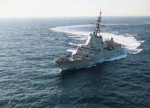 Spanish Navy F-100 frigate