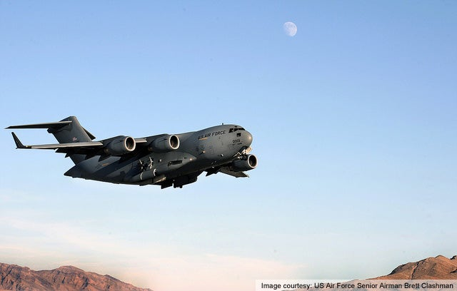 C-17 Globemaster III transport aircraft