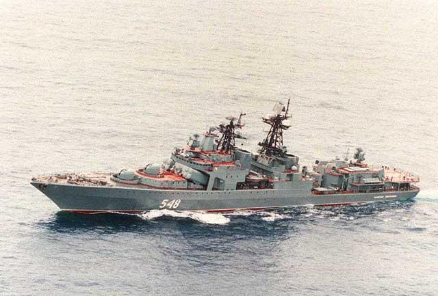 RFS Admiral Panteleyev BPK 548 Udaloy Class destroyer