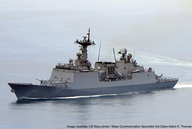 ROKs Choi Young DDH 981 Chungmugong Yi Sunshin Class destroyer
