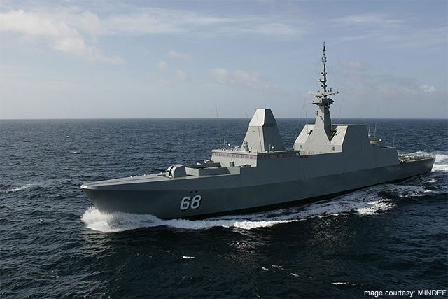 RSS Formidable 68 Formidable Class frigate