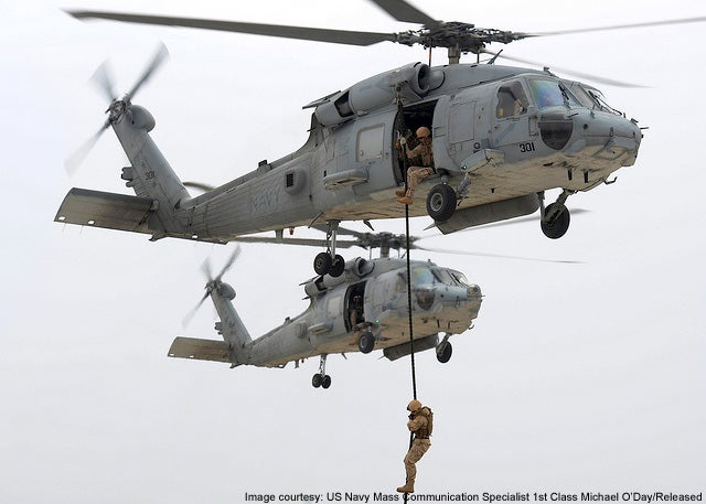 Sea Hawk naval helicopter