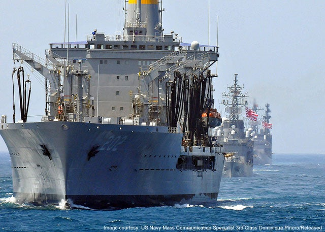 USNS Yukon TAO 202 Henry J Kaiser Class fleet replenishment oiler