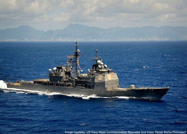 USS Chosin CG 65 Ticonderoga Class cruiser