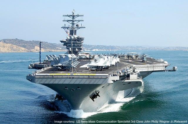 USS Nimitz CVN 68 Nimitz Class aircraft carrier