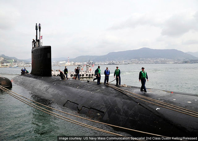 USS North Carolina SSN 777 Virginia class submarine