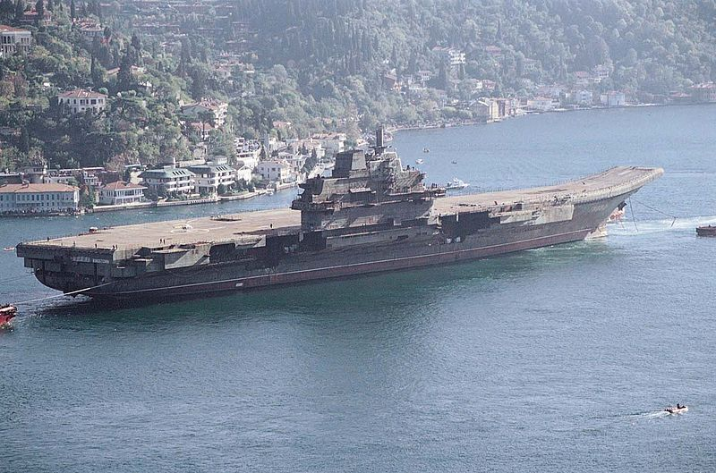 China's first aircraft carrier, Varyag,