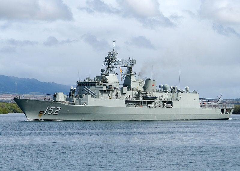 Babcock_HMAS Warramunga_Anzac_frigate
