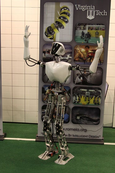 Shipboard Autonomous Firefighting Robot (SAFFiR)