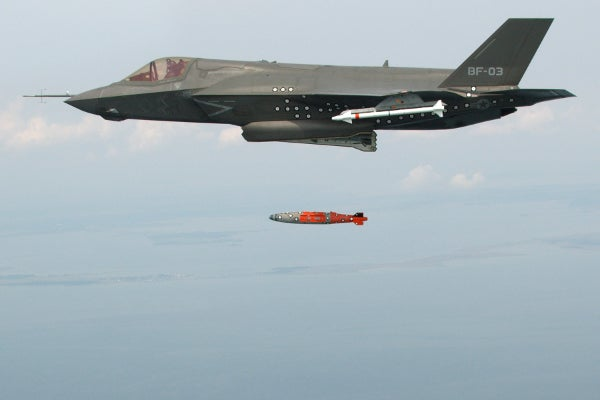 F-35B_weapon separation test