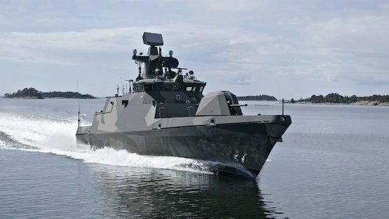 FinnishNavy_TRS-3D radar_Hameenma-class minelayer