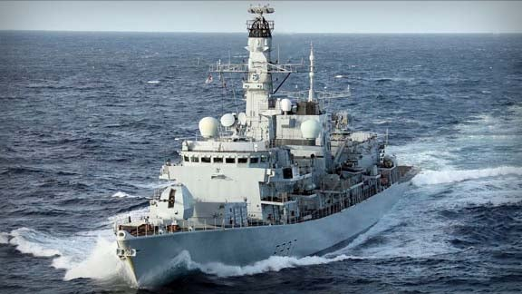 Type 23 Frigate HMS Westminister