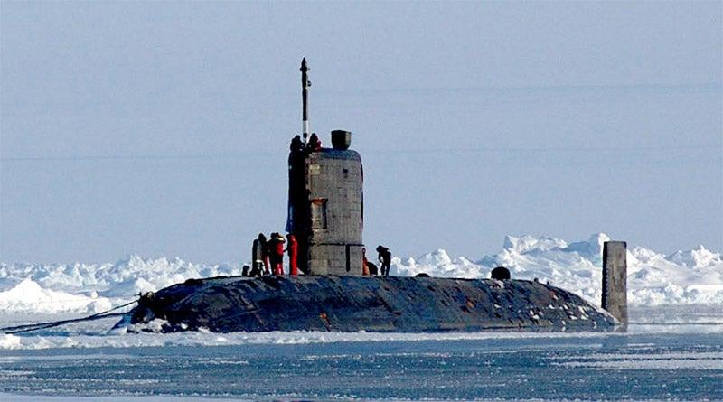 Trafalgar-class HMS Tireless Submarine
