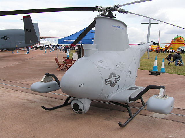US Navy_MQ-8B_Fire_Scout_Northrop