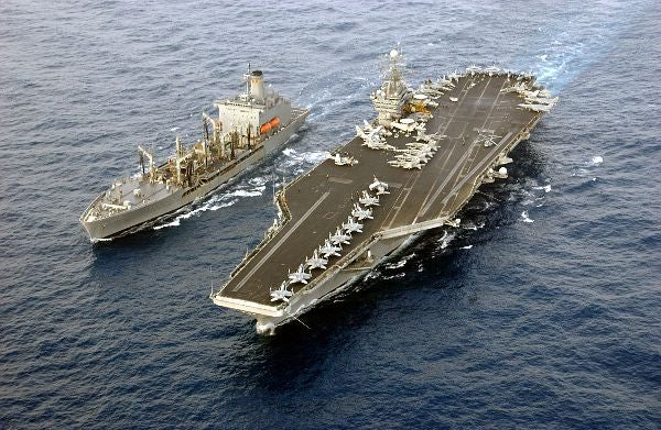 USS Harry S. Truman (CVN 75)_Sea Trials