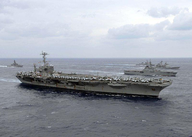 Trilateral exercise_USS George Washington