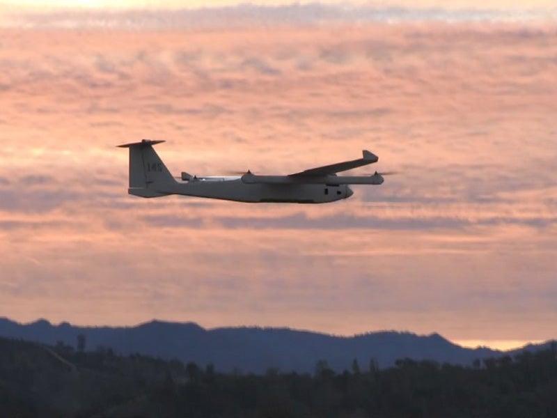 JUMP 20 VTOL UAV