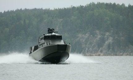 The Finnish Navy ordered a series of 12 Jehu-class landing craft.