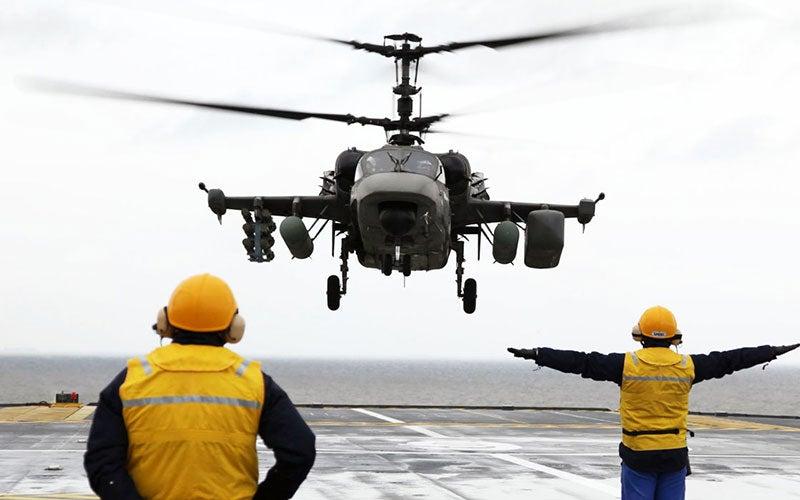 Ka-52K Katran Helicopter
