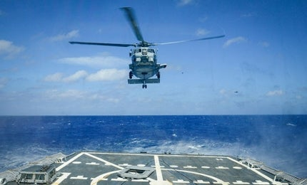 MH-60R Seahawk Naval Helicopter