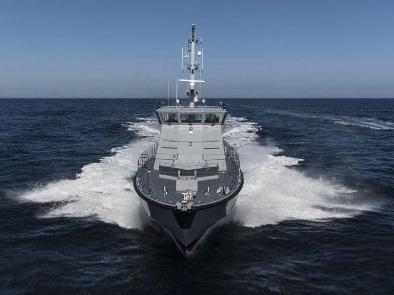 RPB 33 offshore patrol boat