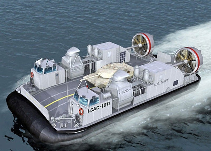 Ship-to-Shore Connector (SSC) Landing Craft