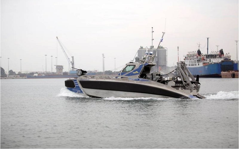 Seagull unmanned surface vessel (USV)