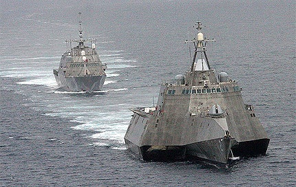 USS Independence and USS Freedom