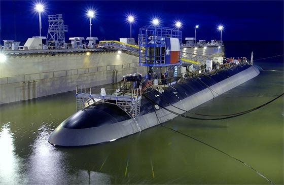 Launch of Texas (SSN 775)