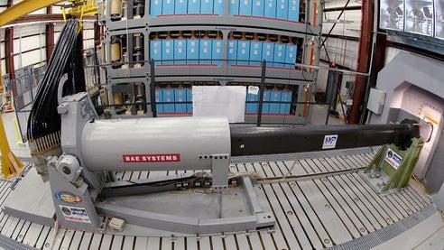 Electromagnetic (EM) Railgun profile